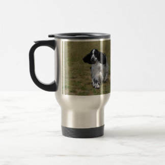 Adorable English Cocker Spaniel Travel Mug
