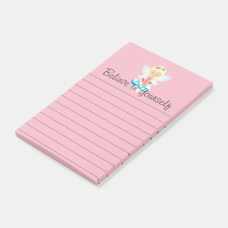 Adorable Fairy on Toadstool Print Post-it Notes