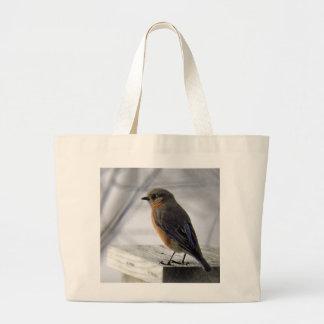 Adorable Female Bluebird Tote Bag