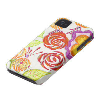Adorable, flowered iPhone 4/4s case