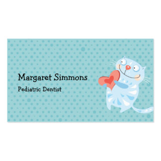 Adorable fun cute animals children business cards