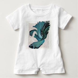 Adorable, gender neutral betta outfit! baby bodysuit