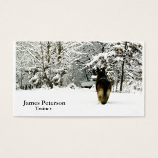 Adorable German Shepherd Business Cards