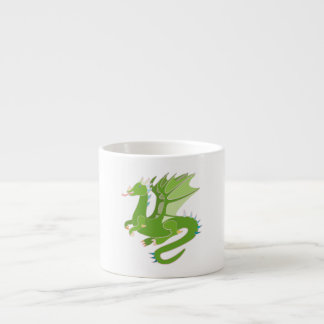 Adorable Green Dragon Espresso Cup