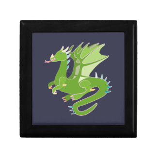 Adorable Green Dragon Gift Box