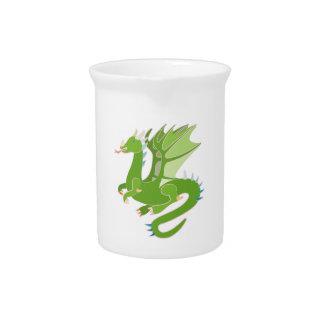 Adorable Green Dragon Pitcher