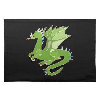 Adorable Green Dragon Placemat