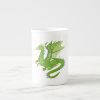 Adorable Green Dragon Tea Cup
