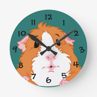 Adorable Guinea Pig Clock