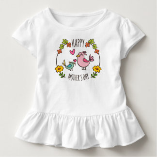 Adorable Happy Mother's Day | Ruffle Tee