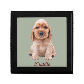 Adorable iCuddle Cocker Spaniel Gift Box