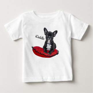 Adorable iCuddle French Bulldog Baby T-Shirt