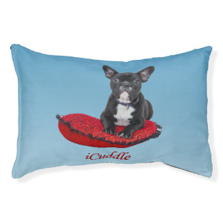 Adorable iCuddle French Bulldog Pet Bed
