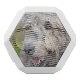 Adorable Irish Wolfhound White Boombot Rex Bluetooth Speaker