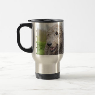 Adorable Irish Wolfhound Coffee Mug