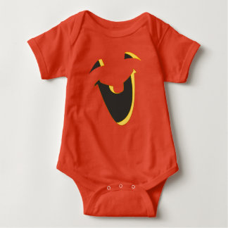 Adorable Jack O Lantern Baby Bodysuit