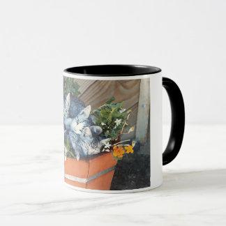 Adorable Kitties in a Basket Coffee Mug