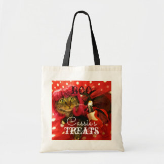 Adorable Kitty Halloween Trick or Treat Bag