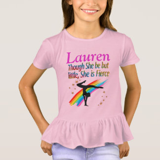 ADORABLE LITTLE BUT FIERCE PERSONALIZED GYMNAST T-Shirt