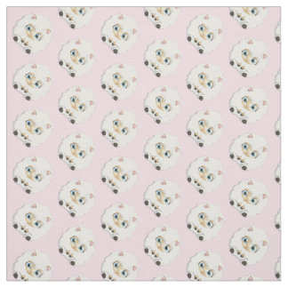 Adorable Little Lamb Fabric