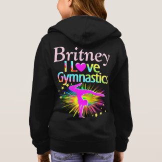 ADORABLE LOVE GYMNASTICS PERSONALIZED HOODIE
