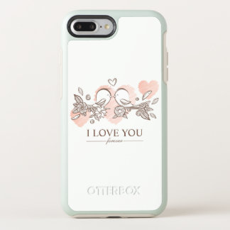 Adorable Lovebirds In Love Valentine | Phone Case