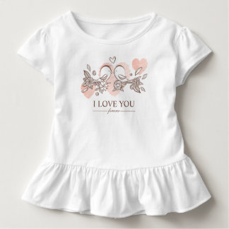 Adorable Lovebirds In Love Valentine | Ruffle Tee
