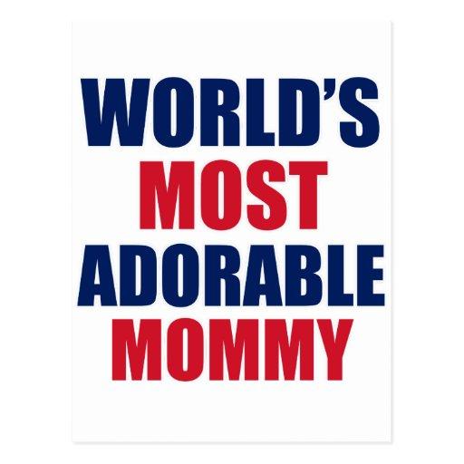 Adorable mummy postcard