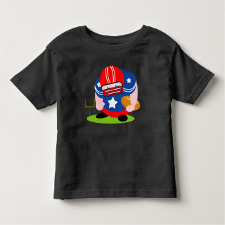 Adorable patriotic American football player design Toddler T-Shirt