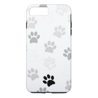 Adorable Paw Print Pattern iPhone 8 Plus/7 Plus Case
