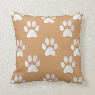 Adorable Paw Prints Cushion