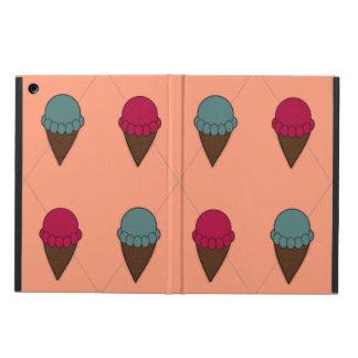 Adorable Peach Ice Cream Cone Ipad Air case