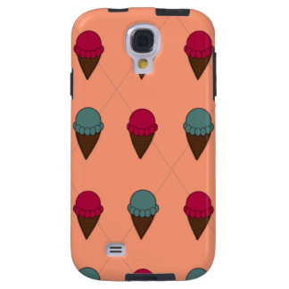 Adorable Peach Ice Cream Phone Case Galaxy S4 Case