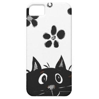 Adorable Peekaboo Cat Iphone Case