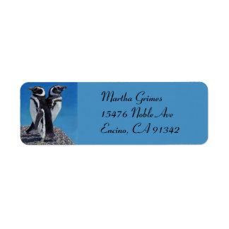 Adorable Penguin Address Labels