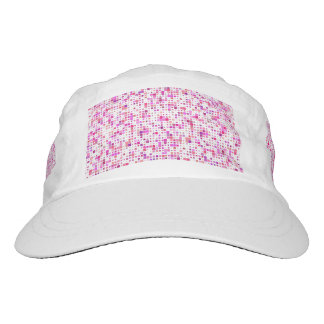 Adorable Pink Blocks Performance Hat