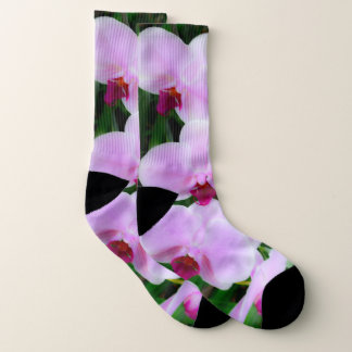 Adorable Pink Flower Photography Socks