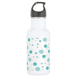 Adorable Polka Dots Pattern 532 Ml Water Bottle