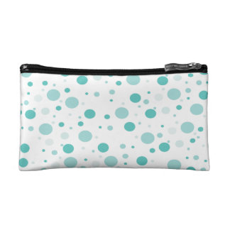 Adorable Polka Dots Pattern Cosmetic Bags
