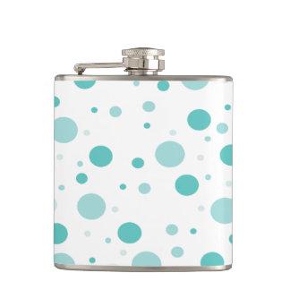 Adorable Polka Dots Pattern Hip Flask