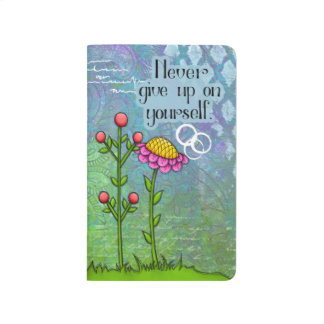 Adorable Positive Thought Doodle Flower Journal