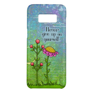 Adorable Positive Thought Doodle Flower Samsung 8 Case-Mate Samsung Galaxy S8 Case