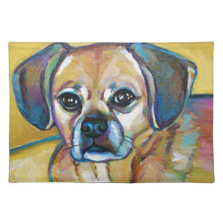 Adorable PUGGLE Placemat