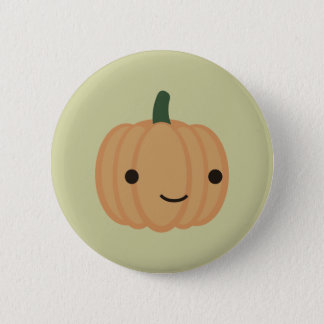 Adorable Pumpkin 6 Cm Round Badge
