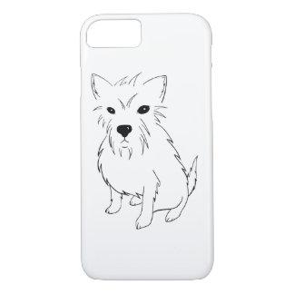 Adorable Puppy Samurai iPhone 7 Case