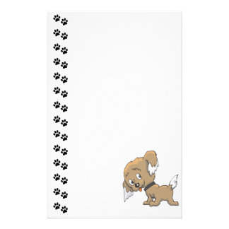 Adorable Puppy Stationery