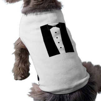 Adorable Puppy Tuxedo Shirt