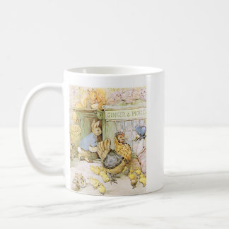 Adorable Rabbit and Poultry Coffee Mug