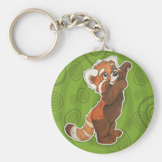 Adorable Red Panda Keychain