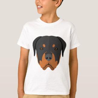 Adorable Rottweiler Cartoon T-Shirt